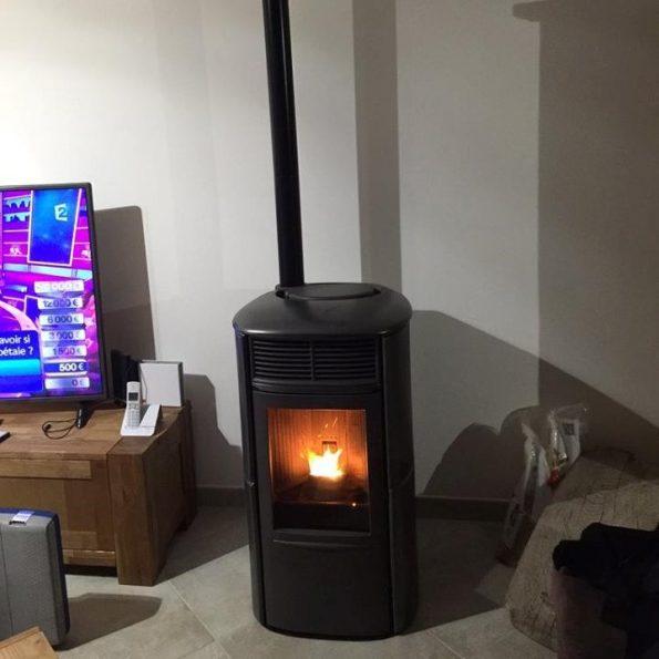ARIS 8kW en céramique grise