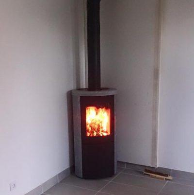 Poêle à bois Heta 800 Pierre Ollaire