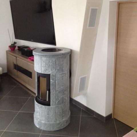 Heta SL 10 tout pierre ollaire Poêle à bois danois à accumulation de chaleur