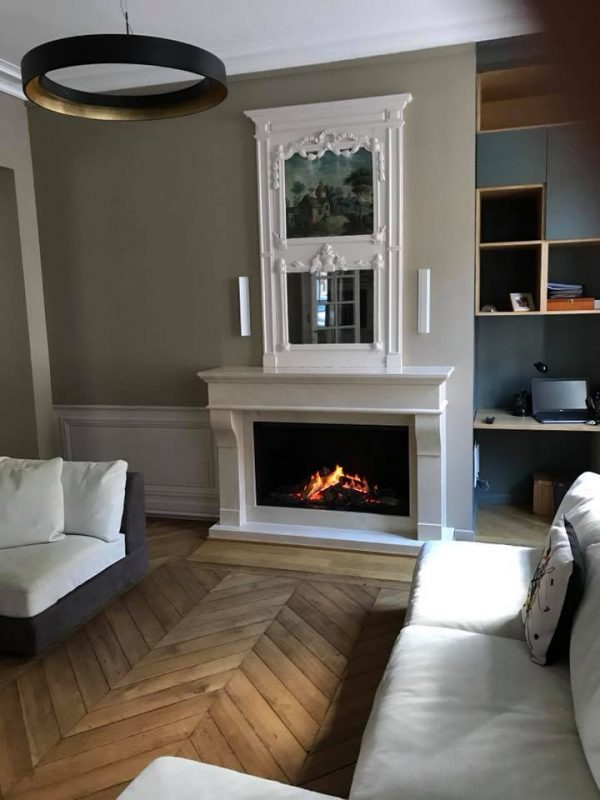 Nos installations tiplo - Habillage cheminee marbre ...