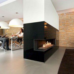Foyer à gaz Kalfire G125 37C