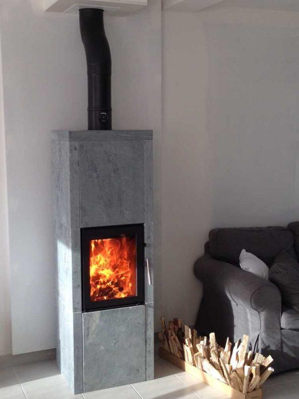 Poêle à bois danois Heta 40