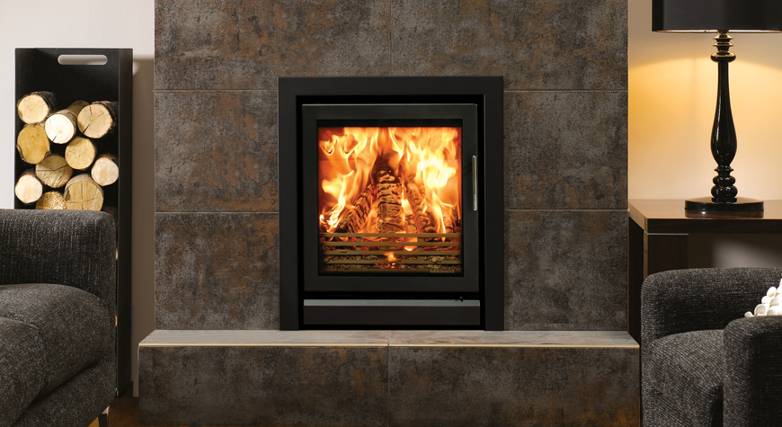 Stovax insert à bois multi-combustibles _ Riva 55